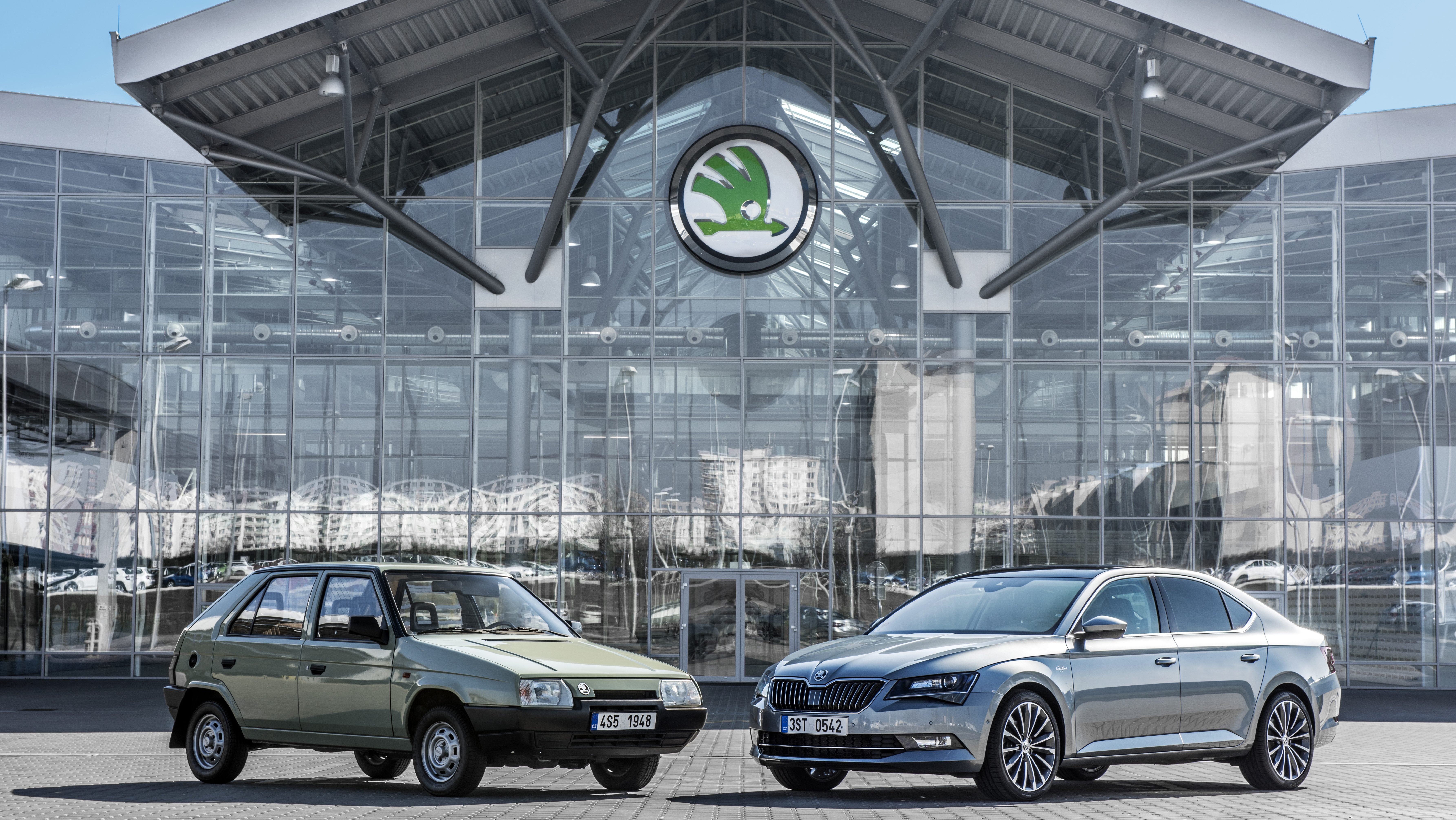 Volkswagen Group Latest Models >> A Strong Partnership 25 Years Of Skoda And Volkswagen Skoda