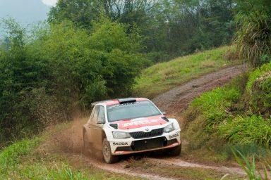 ŠKODA bei der APRC-Rallye in Neuseeland