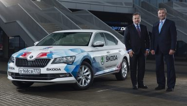 Official fleet: ŠKODA makes the IIHF Ice Hockey World Championship in Russia mobile