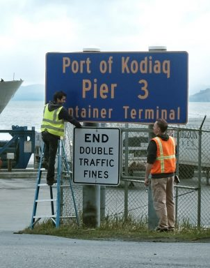 Town on island off the coast of Alaska renamed: 'Kodiak' became 'Kodiaq' for one day