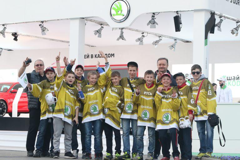 160519 ŠKODA pozvala děti na MS IIHF v ledním hokeji (1)