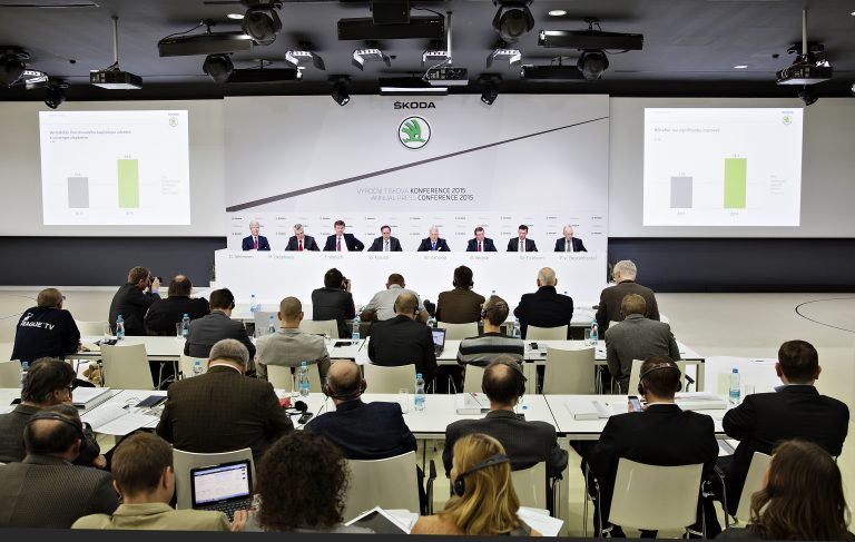 2015 ŠKODA Annual Press Conference