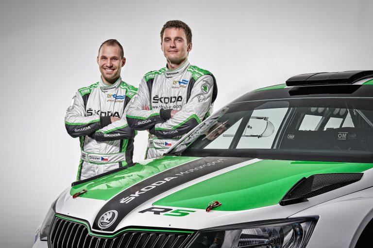 Posádka ŠKODA Motorsport Jan Kopecký/Pavel Dresler