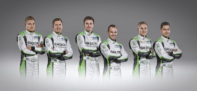 Posádky ŠKODA Motorsport 2015
