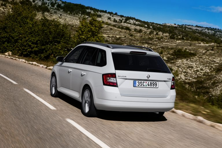 The new ŠKODA Fabia Combi
