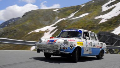 Excitement in Montafon: Two vintage ŠKODAs head to the Silvretta Classic