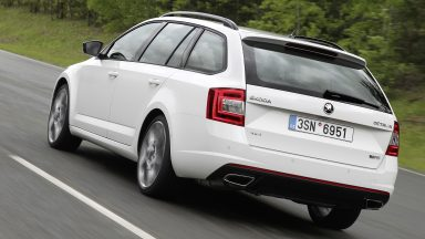 ŠKODA Octavia RS: Now with all-wheel drive and six-speed DSG