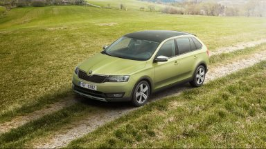 The new ŠKODA Rapid Spaceback ScoutLine: Young and adventurous compact car