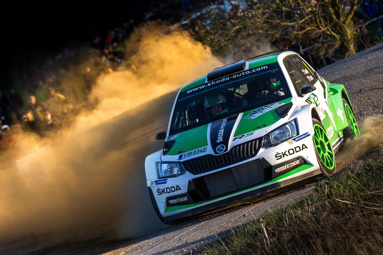 Perfect Start New Skoda Fabia R5 Wins On Its Rally Debut Skoda Storyboard