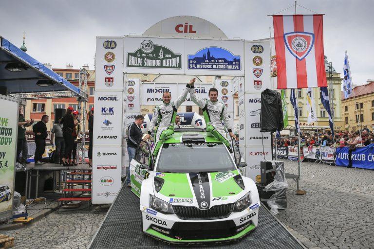 Rally Sumava Klatovy 2015
