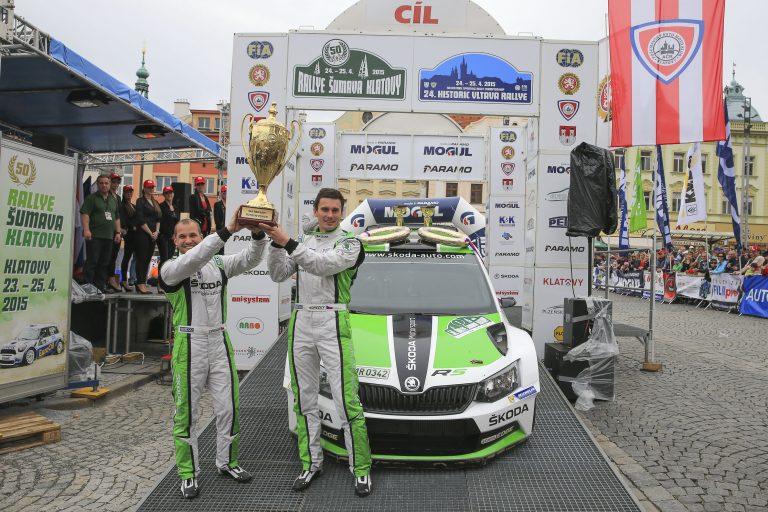 Rally Šumava Klatovy 2015