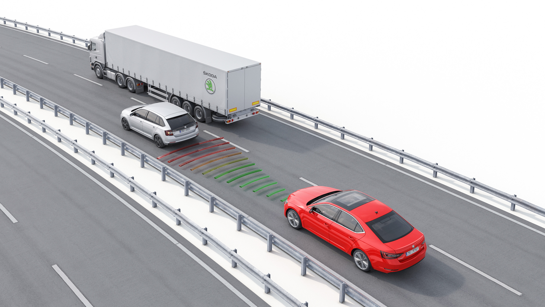 Inspiring safety technology: New ŠKODA Superb with