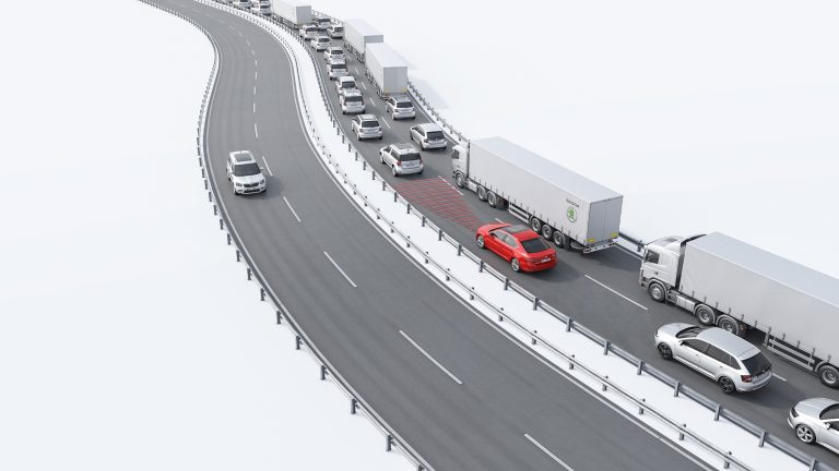 ŠKODA Superb – Traffic Jam Assist
