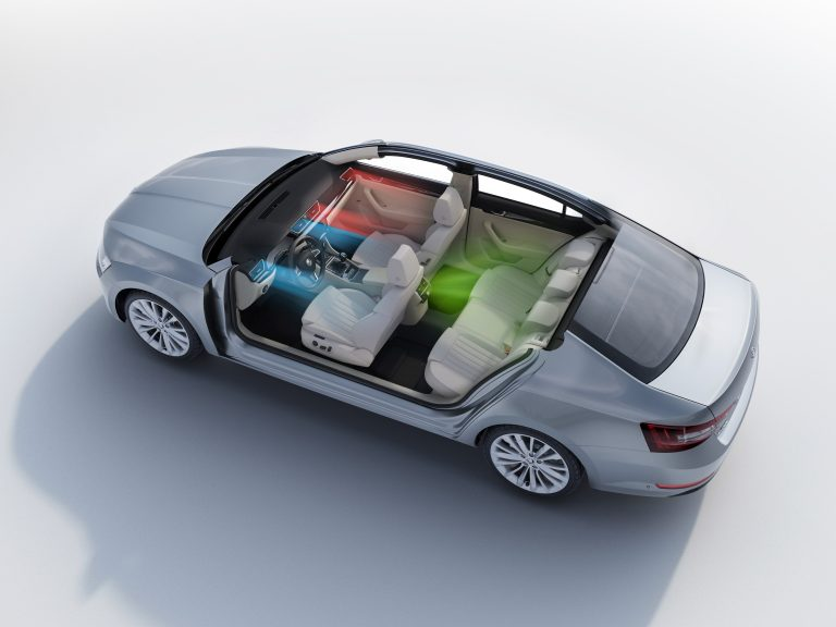 ŠKODA Superb – 3-zone-Climatronic aircondition
