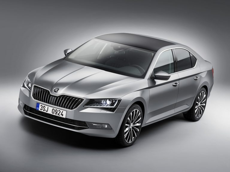 The new ŠKODA Superb