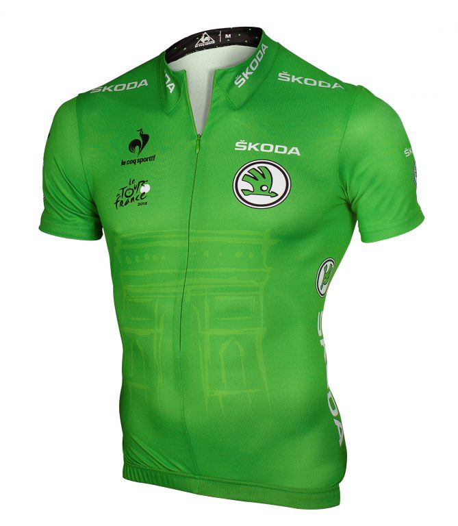 ŠKODA is now the new official partner of the green jersey for the best sprinter in both the Tour de France and Tour of Spain (La Vuelta)