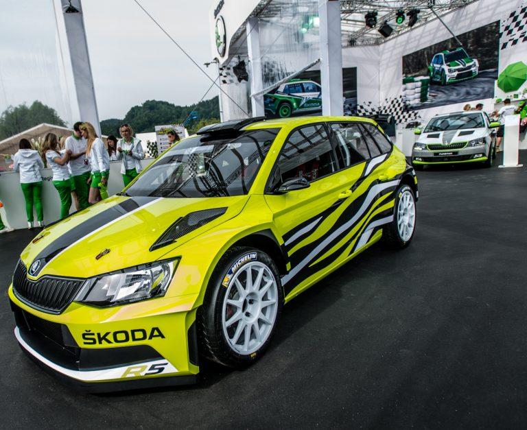 ŠKODA Fabia R5 Combi