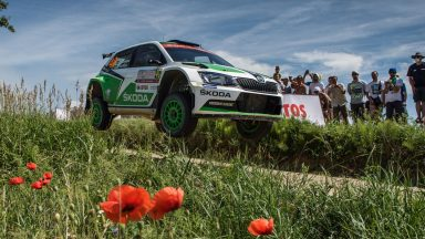 """""""Formula 1 in the forest"""": ŠKODA Fabia R5 to contest the fastest rally of the year"""