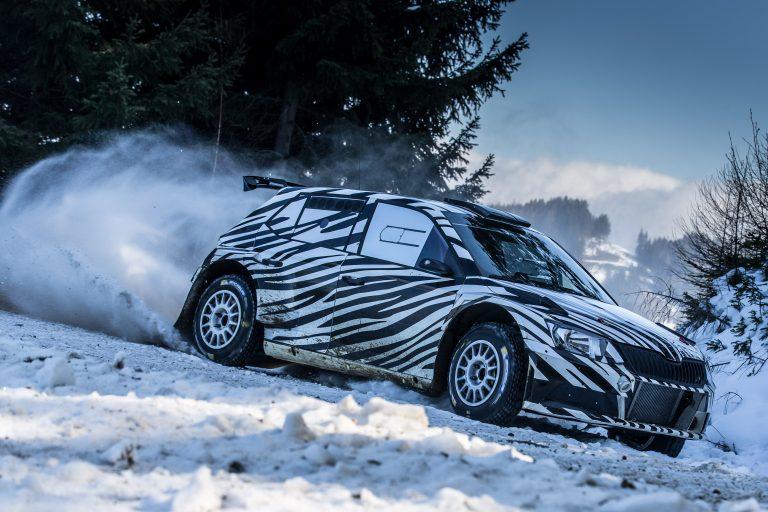 Zákazníci z rallyové scény napjatě čekají na nový vůz ŠKODA Fabia R5