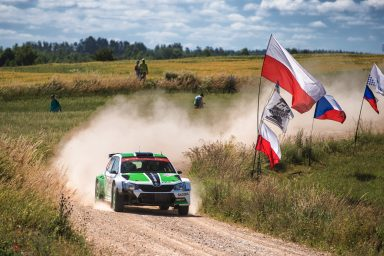 WRC 2: ŠKODA looks to continue winning ways at full-throttle show in Poland