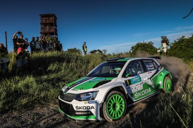 Kopecký completes hat-trick of victories for ŠKODA in Czech championship