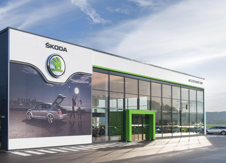 Global success 2000 koda dealerships in new corporate for Garage skoda paris 12