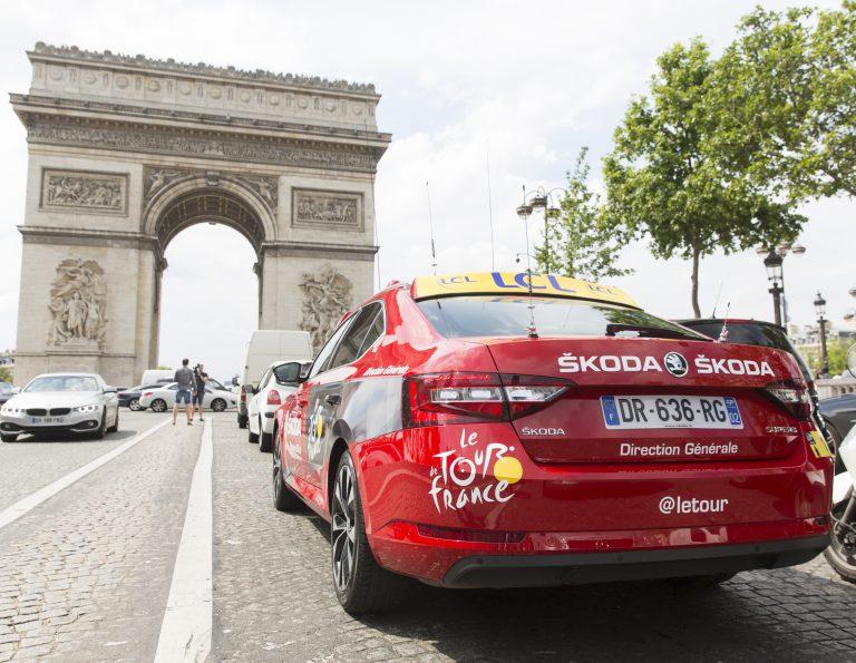 Nejdůležitější vůz na Tour de France