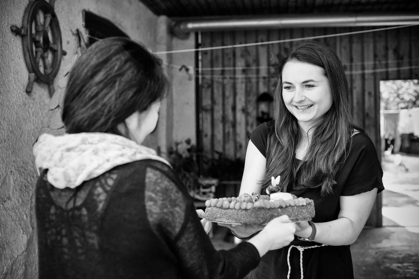 Kateřina is a passionate baker and makes cake to order.