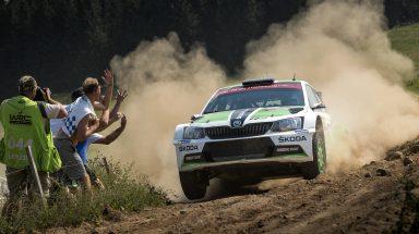 WRC 2: Suninen zajistil značce ŠKODA páté vítězství v řadě