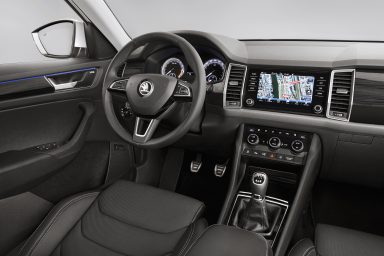 ŠKODA KODIAQ: Interior Revealed