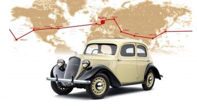 Před 80 lety kolem světa: Velkolepá jízda modelu ŠKODA RAPID
