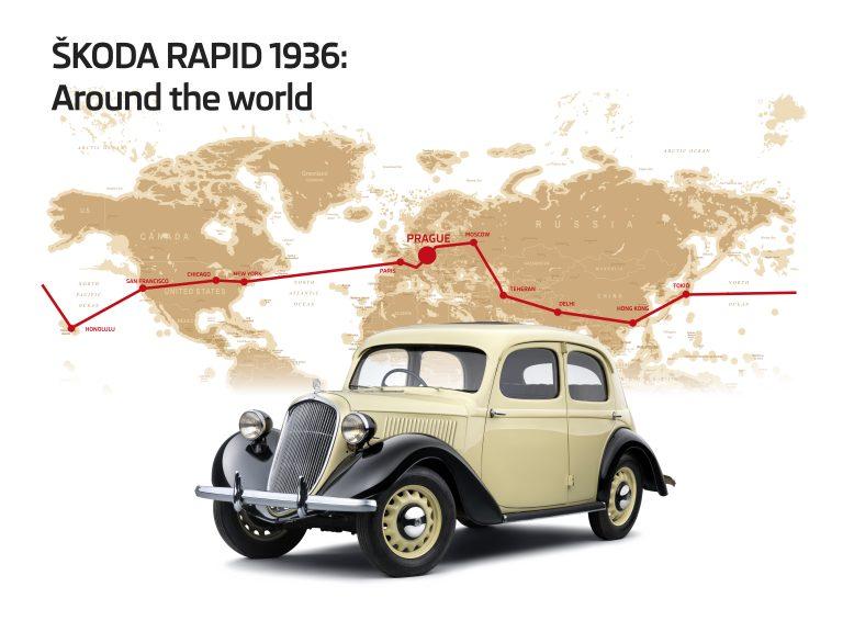 1935 Skoda Rapid Typ 901 En Skoda Storyboard