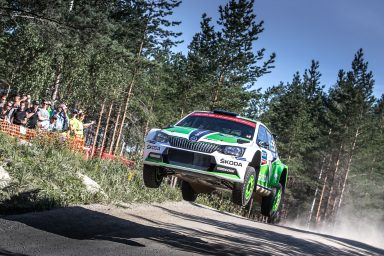 Full throttle ahead: ŠKODA extends lead further at the Rally Finland