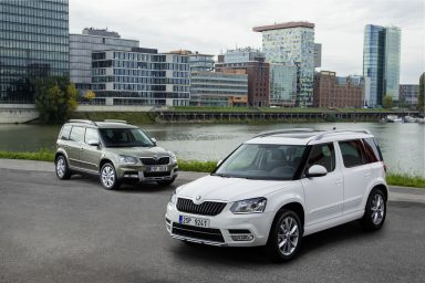 Continued high demand: ŠKODA expands YETI capacities