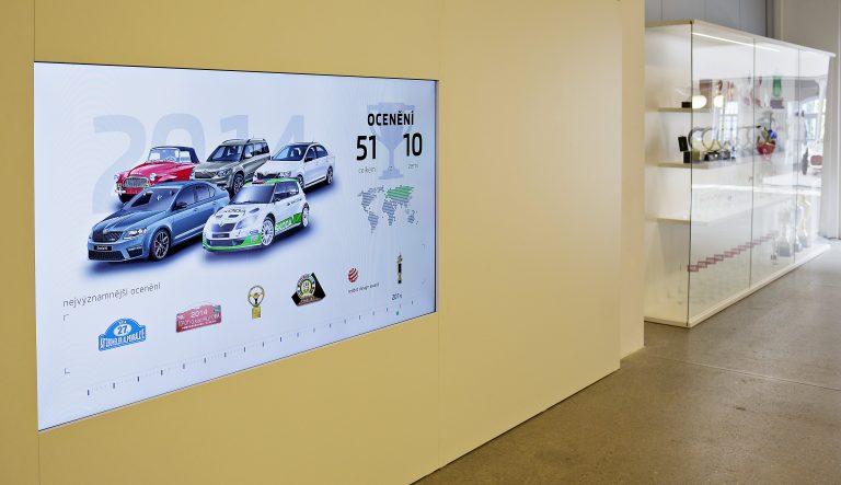 Výstava ocenění Škoda Auto a.s.