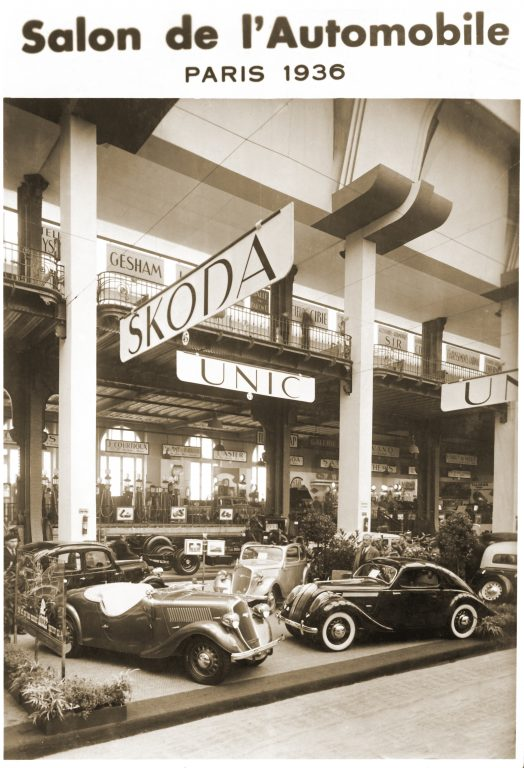 International Motor Show Premiere 80 years ago: The ŠKODA POPULAR Sport Monte Carlo