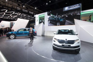 Video: Highlights from ŠKODA KODIAQ Motor Show Premiere