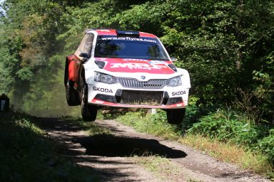"APRC: ŠKODA and championship leader Gill have first ""match point"" in title race"