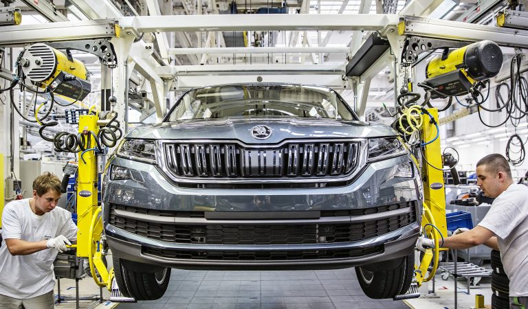 Series production of new ŠKODA KODIAQ launched at Kvasiny plant
