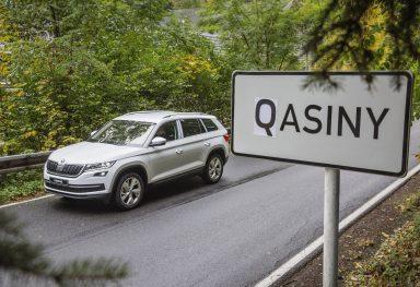 Výrobní závod ŠKODA AUTO slaví zahájení sériové výroby: Z Kvasin se staly 'Qasiny'
