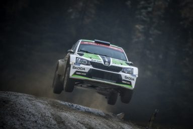 ŠKODA works driver Lappi wins the Rally Great Britain and remains in the running for the WRC 2 title
