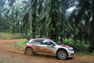 APRC finale in India: Local hero Gill and ŠKODA to be welcomed as champions