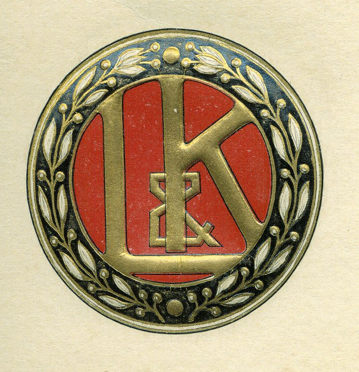 Laurin&Klement logo (1905-1925).