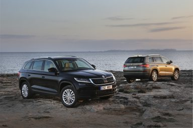 ŠKODA KODIAQ wins Top Gear Award