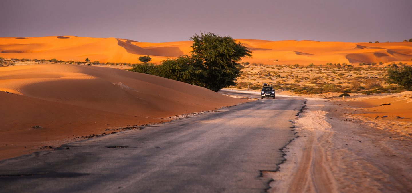 Route No. 1 runs from Western Sahara to Mali.
