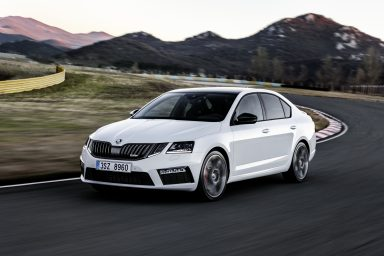 ŠKODA OCTAVIA RS: The most powerful OCTAVIA of all time