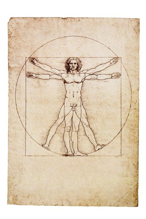 Leonardo da Vinci: Vitruviánský muž