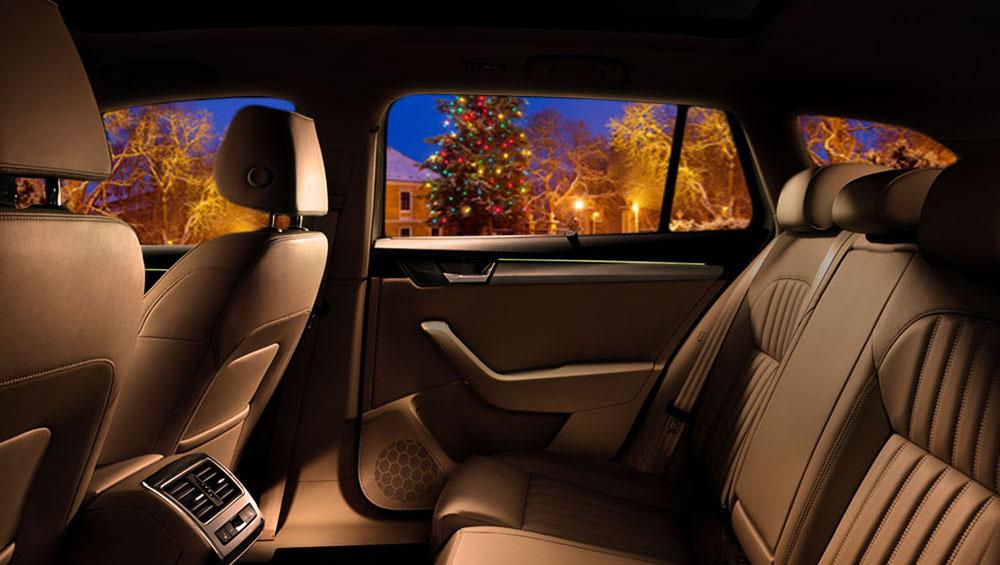 Vůně Vánoc, vůně aut