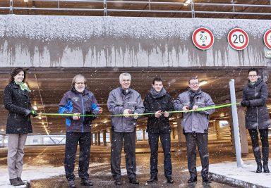 ŠKODA AUTO otevírá nový parkovací dům v závodě v Mladé Boleslavi