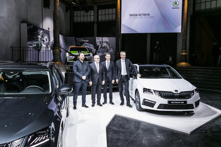 ŠKODA OCTAVIA world premiere in Vienna